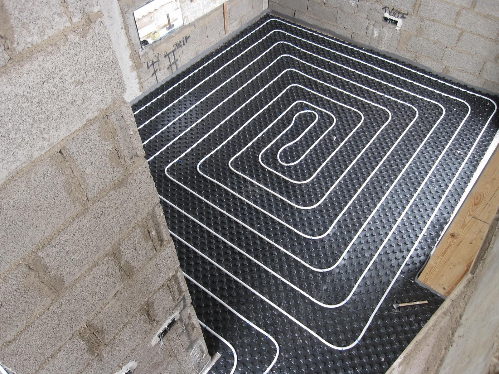 Galer a de calefacci n por suelo radiante gastensolar - Calefaccion por suelo radiante ...